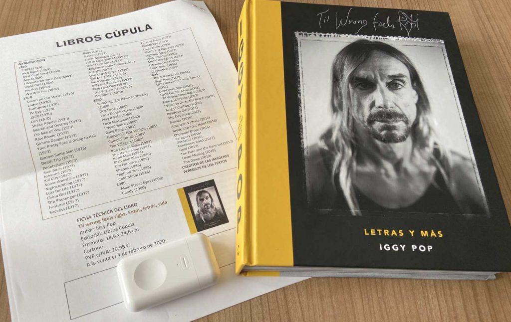 Libro de Iggy Pop