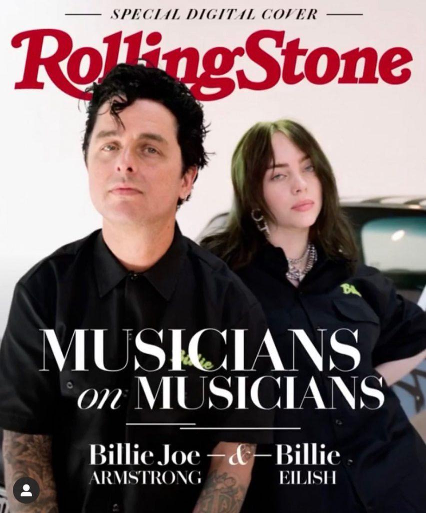 Portada de Rolling Stone con Billie Eilish