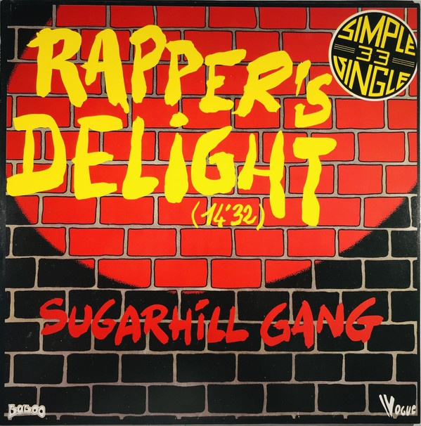 Sencillo de Rapper's delight de Sugar Hill versión 2