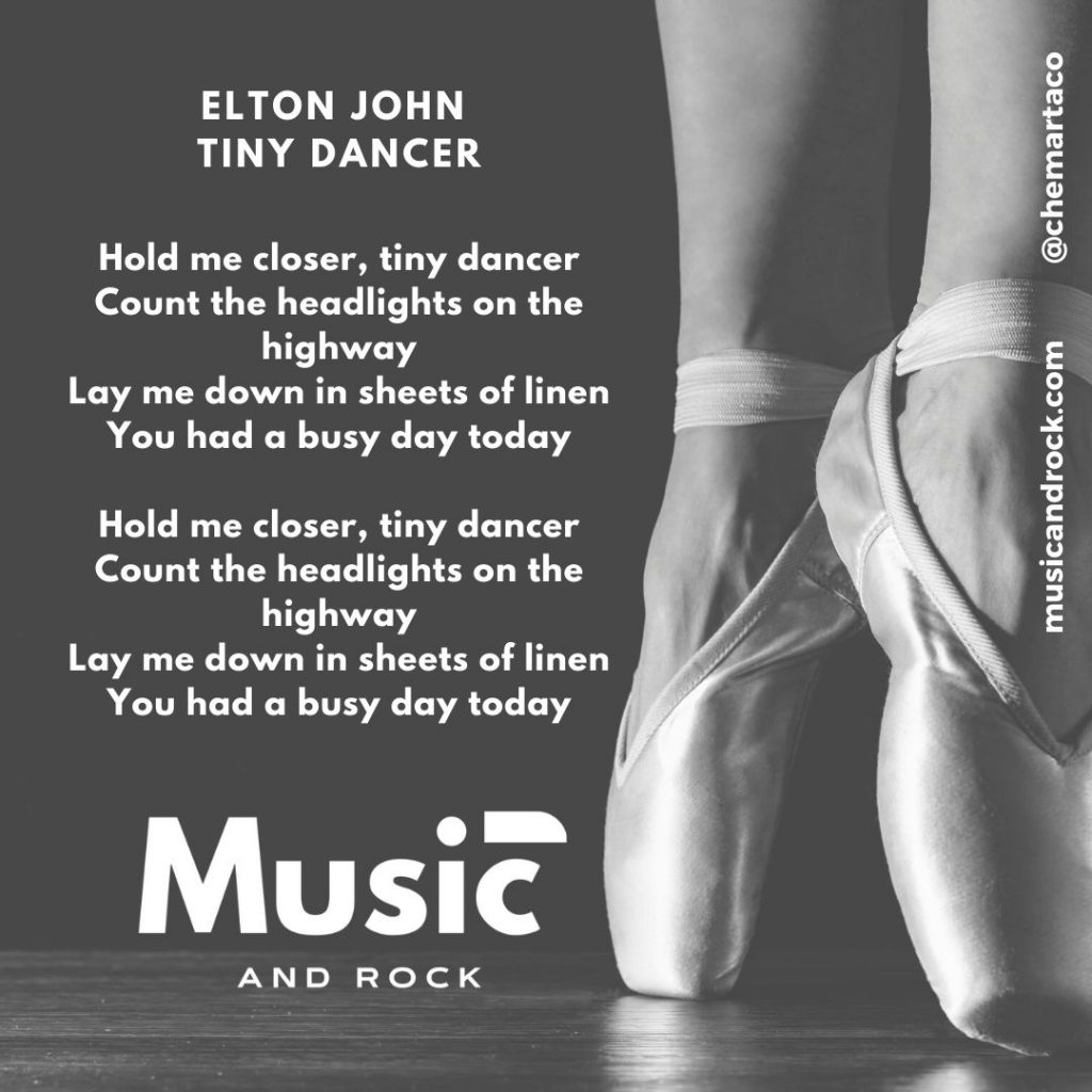 Elton John - Tiny Dancer Tip