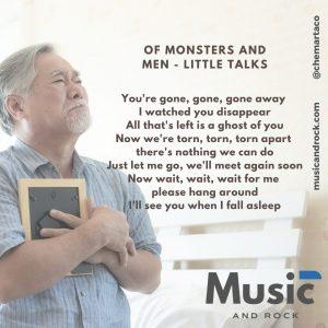 Tip instagram Of Monsters and Men Little Talks