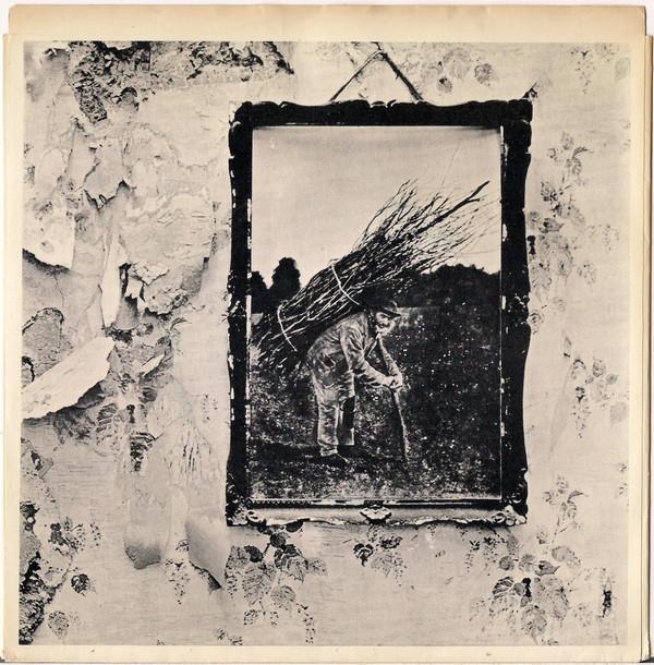 Portada de IV de Led Zeppelin