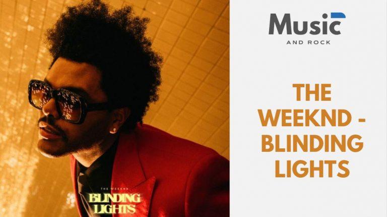 Blinding lights de The Weeknd, la canción que te gustaría escuchar en una fiesta si volvieras a los 80