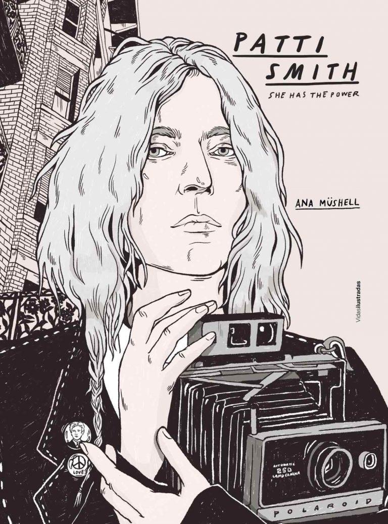 Ana Müshell nos acerca la artista total a partir de sus ilustraciones y reflejos en Рatti Smith. She has the power