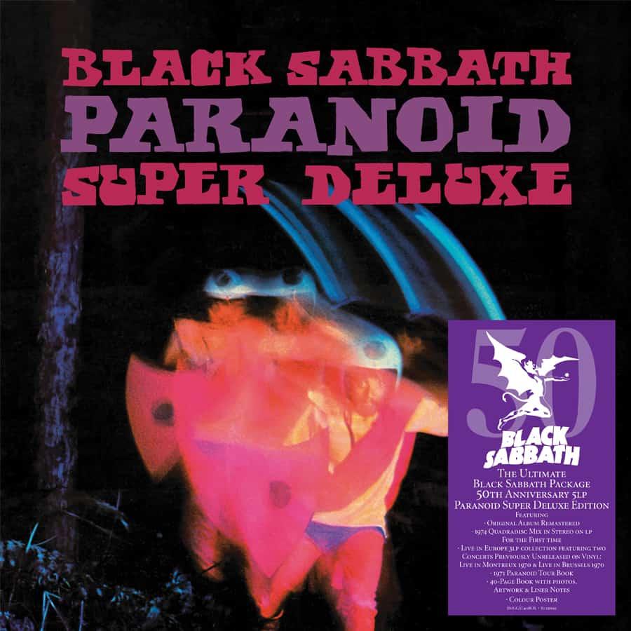 Edición deluxe de Paranoid de Black Sabbath
