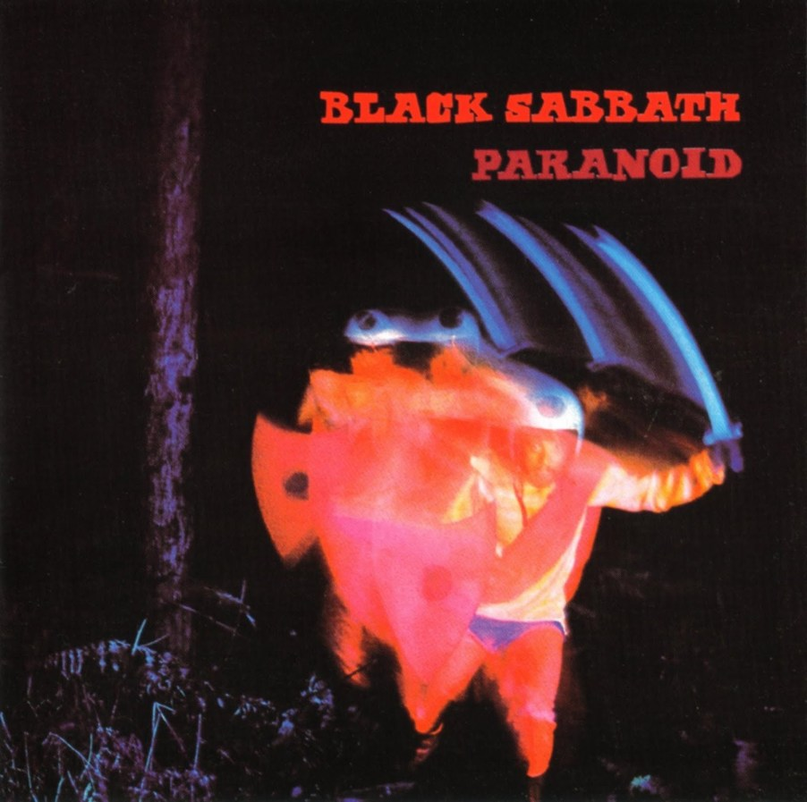 Portada de Paranoid de Black Sabbath