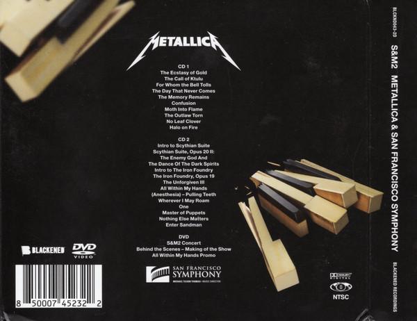 Contraportada del S&M 2 de Metallica