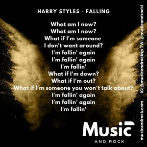 Harry Style letra Falling