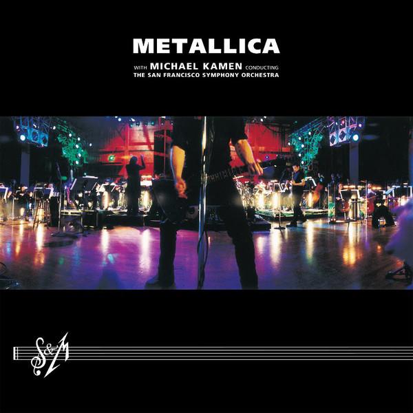 Portada del S&M 1 de Metallica