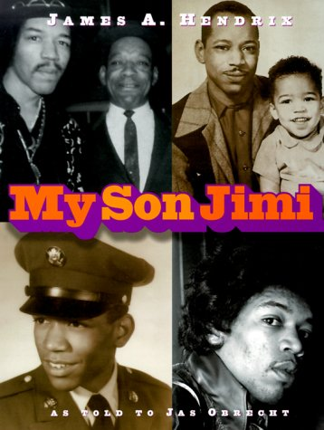 Libro My Son Jimi de James A. Hendrix, en el que colaboró Jas Obrecht