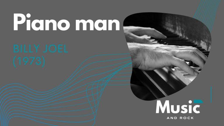 Piano man de Billy Joel o como un vals hizo de oro a uno de los grandes de la música americana