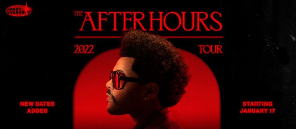 Cartel de la gira After Hours 2022