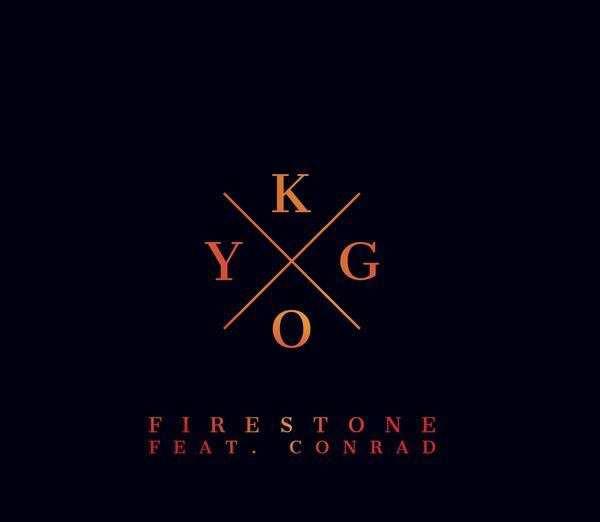 Portada del single Firestone con Conrad Sewell