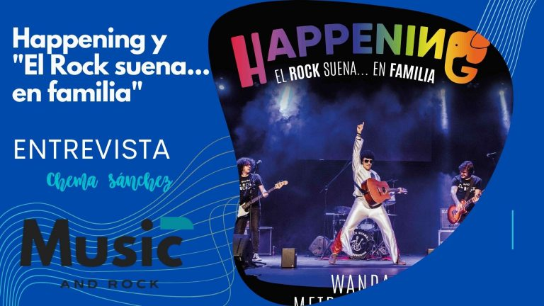 Happening lleva su exitoso espectáculo el «Rock suena… en familia» al Wanda Metropolitano para homenajear a los niños