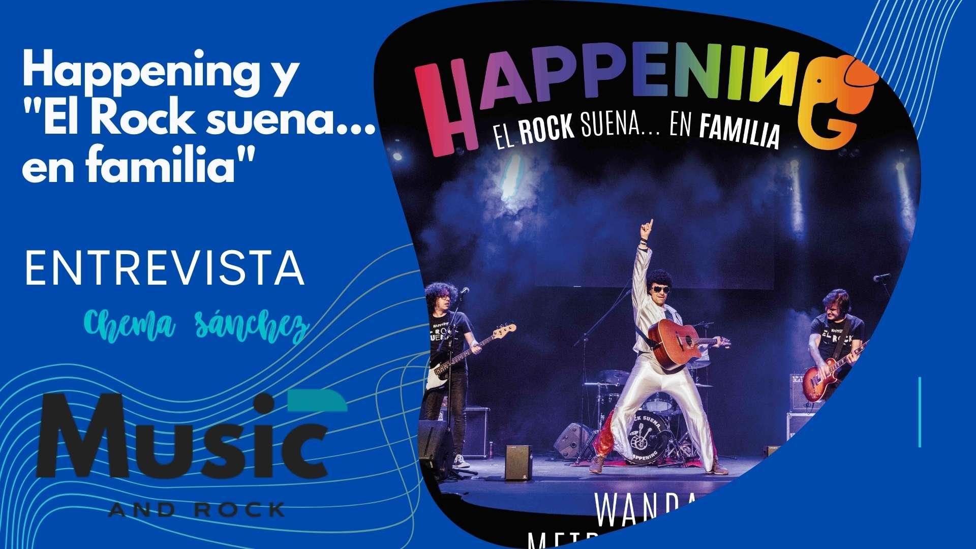 """En este momento estás viendo Happening lleva su exitoso espectáculo el «Rock suena… en familia» al Wanda Metropolitano para homenajear a los niños<span class=""""wtr-time-wrap after-title""""><span class=""""wtr-time-number"""">6</span> minutos de lectura</span>"""